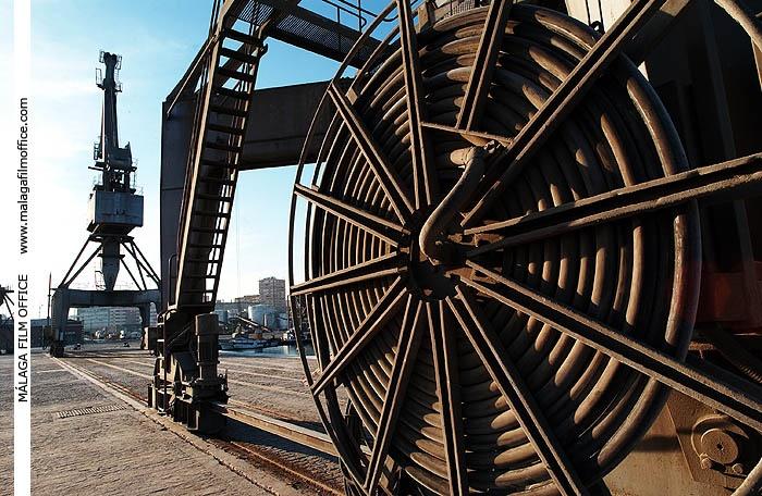 Industrial Harbour in Malaga (c) James Souza