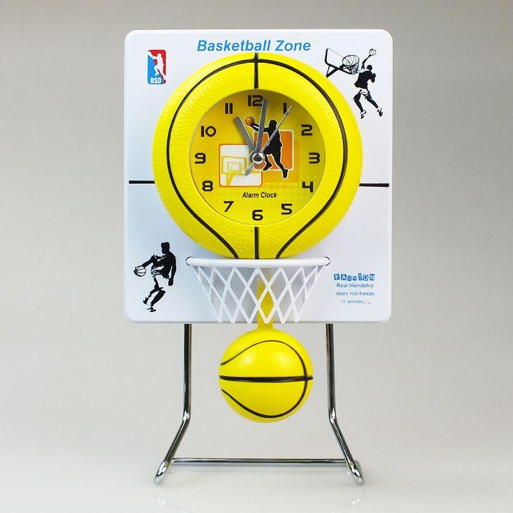 Basket Potası Şeklinde Sallanan Masa Saati : : İthal Ürün Al