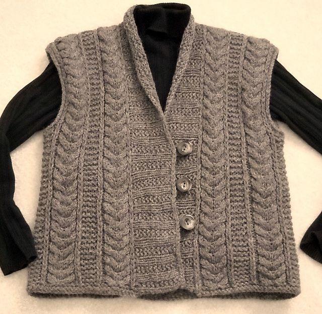 Ravelry: slipperystitch's Earthy Eco Vest
