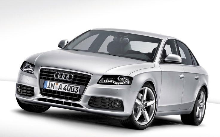 Hd Wallpaper Audi A4 Car White Background