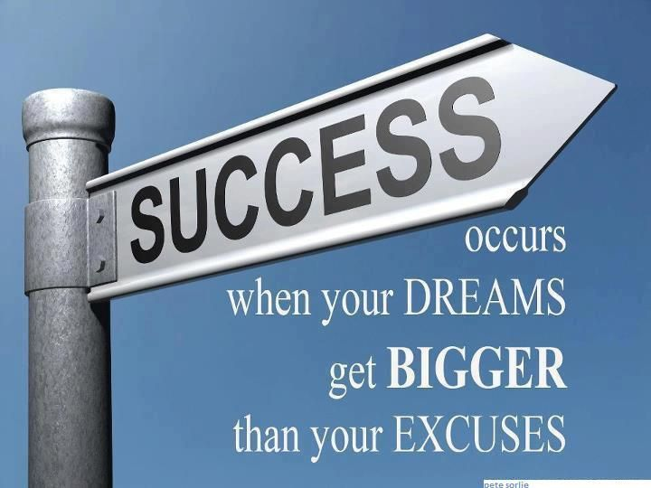Success occurs when your dreams get bigger than your excuses. Visit www.MSAGroup.flppro.biz for more information!