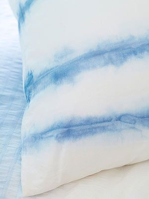 Project No. 5: Striped Pillows