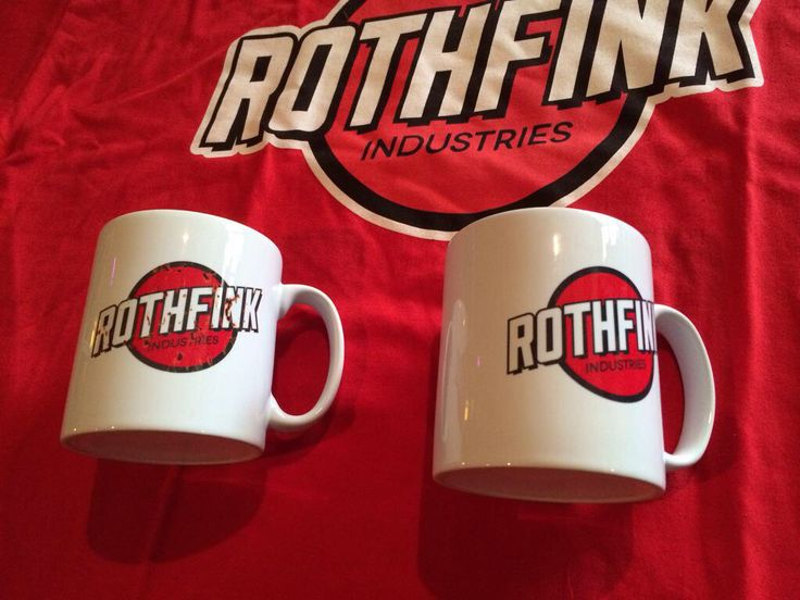 Rothfink mugs available at Roofrack Ragamuffins, Langtons Antique & Collectors Centre, Newport, South Wales.