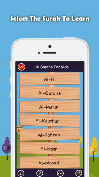 Last 10 Surahs App – Quran Lessons with Tajweed Rules