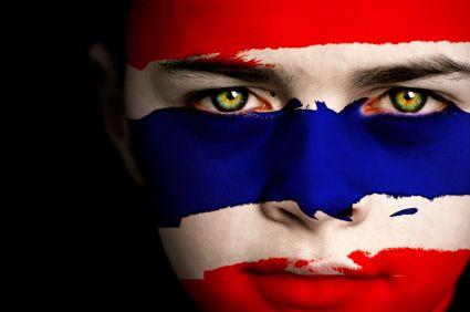 Thailand Flag Boy Capital: Bankok
