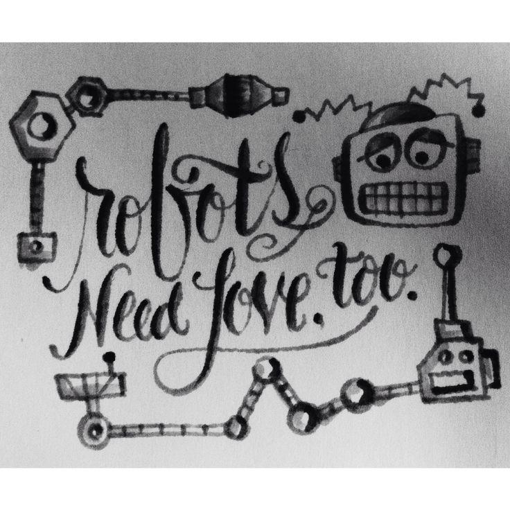 "Inspired by Dan Mangan's ""Robots"""