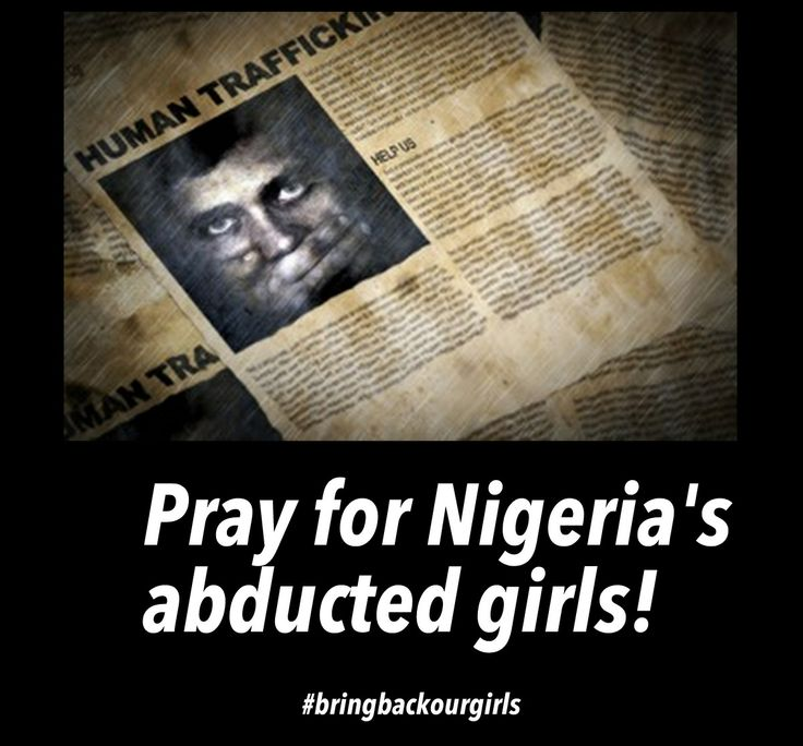 Thoughts on my blog on how can we help bring them back. http://myblogintheheartofafrica.blogspot.com/2014/05/bring-back-our-girls.html