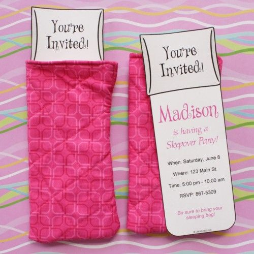 Best 25 Slumber party invitations ideas – How to Make Slumber Party Invitations