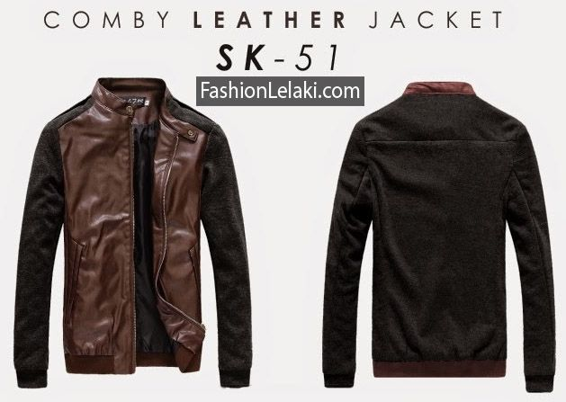 Jackets Comby leather   Just Call me or Text message  Call/message : +6287872023264 Blackberry mesangger : 29399D9F  Price : Rp.295.000
