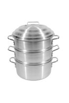 Town Food Service 22 Inch Aluminum Steamer Set