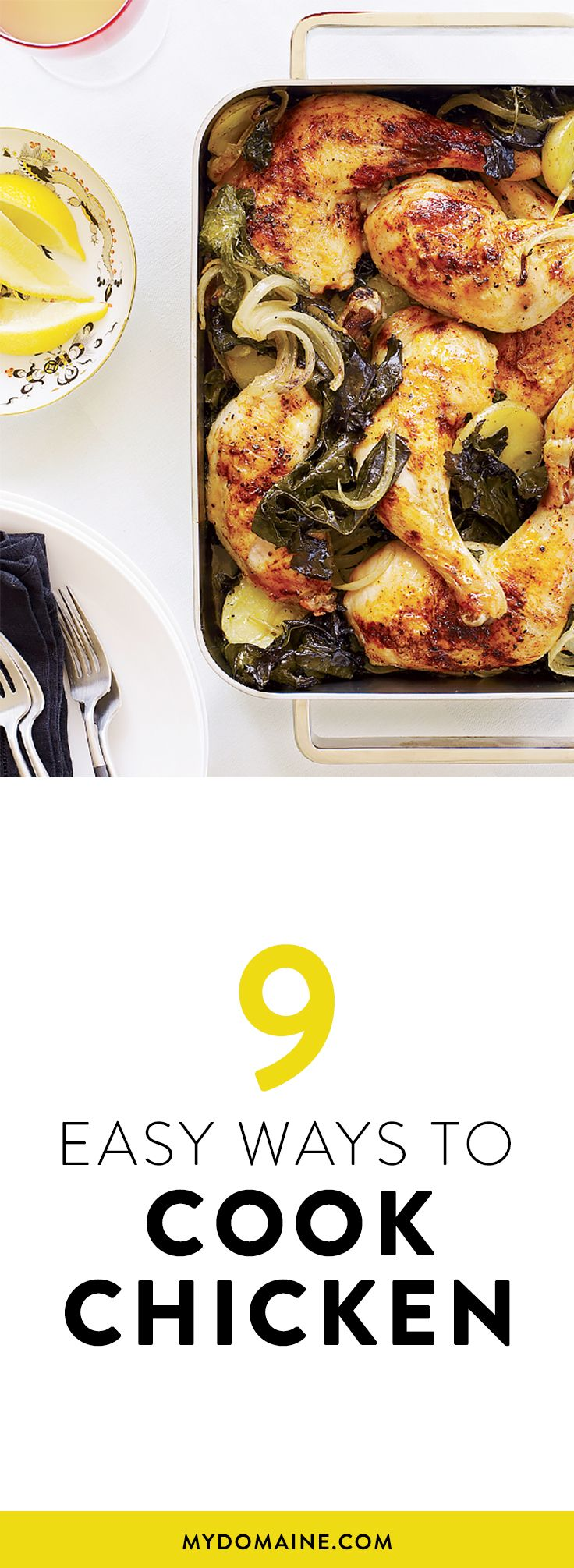 The easiest way to prepare chicken