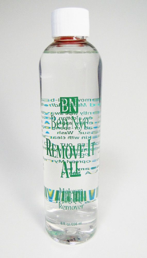 Ben Nye Remove It All is a must for a well stocked makeup kit. This Cleanser easily takes off creme or grease makeup and helps dissolve spirit gum and skin safe adhesives. Removal is effortless! Expec