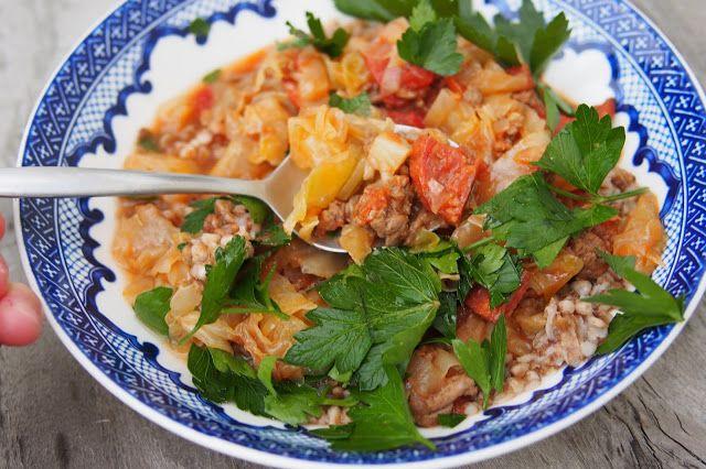 Eat, Belch, Fart: Sloppy Cabbage Rolls