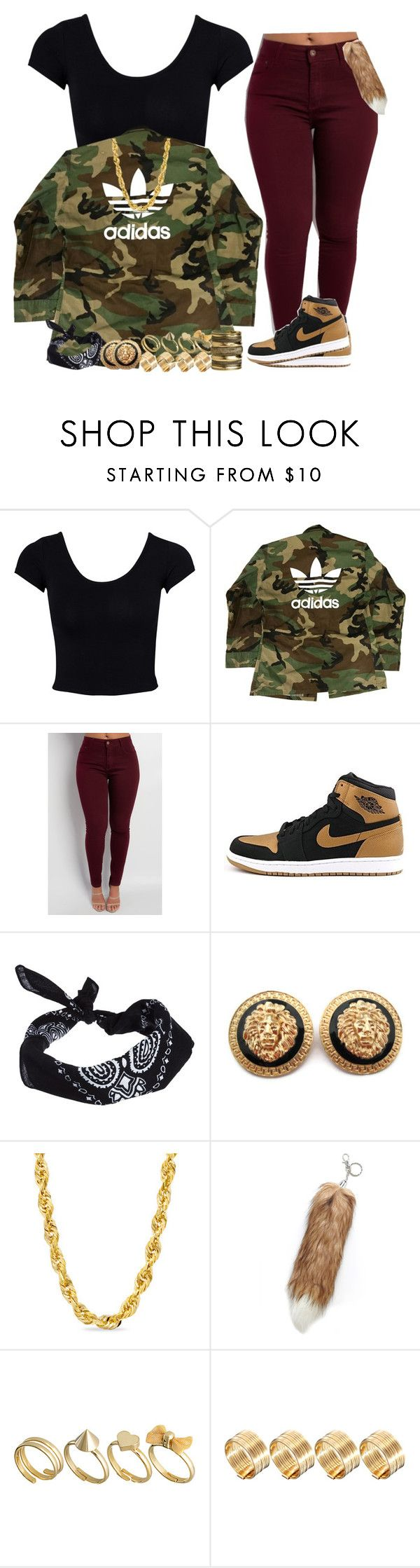 """""""Don't Wanna Deal With The Naggin' Girl, The Average Girl"""" by vi-demigliore ❤ liked on Polyvore featuring Estradeur, adidas, NIKE, ASOS, Zales and H&M"""