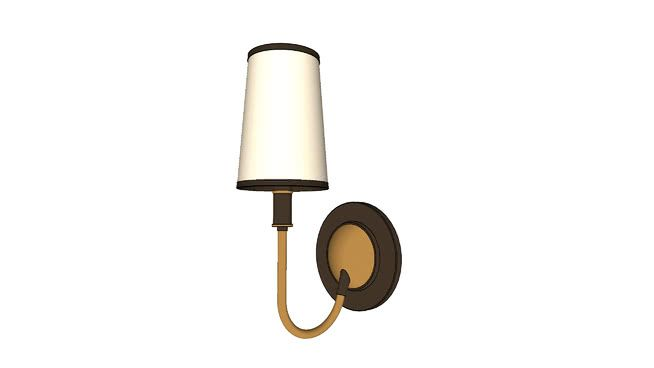 Visual Comfort Elkins Wall Lamp 3d Warehouse