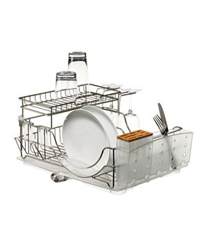 The Best Dish Rack Picks|Looking for a drainer truly worthy of your counter space? Real Simple tried 35 contenders and found seven that really step up to the plate.