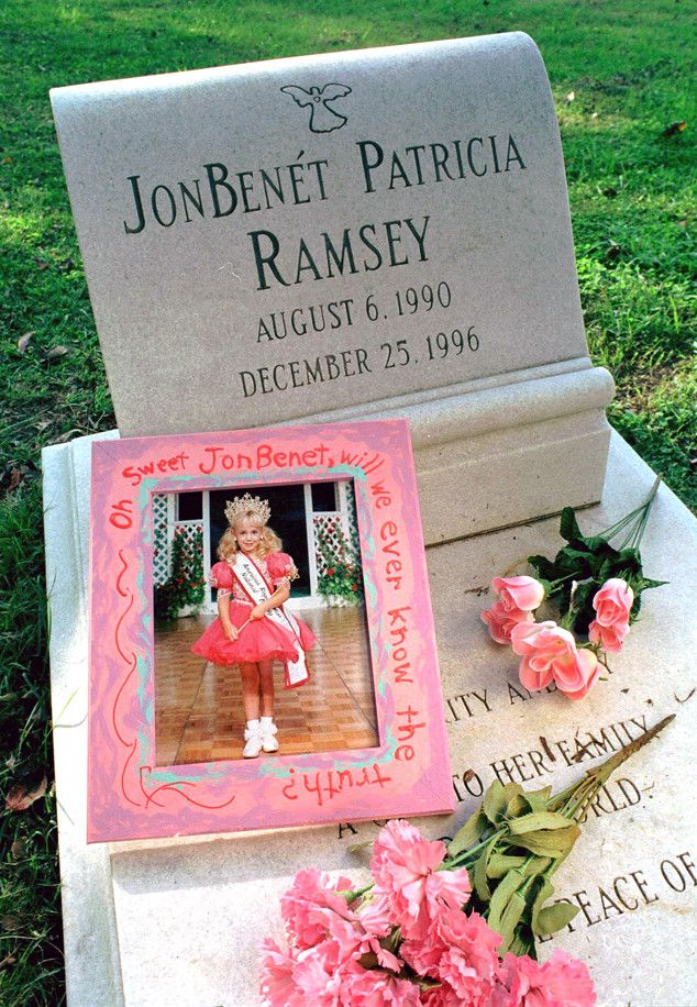 JonBenet Ramsey, Gravestone