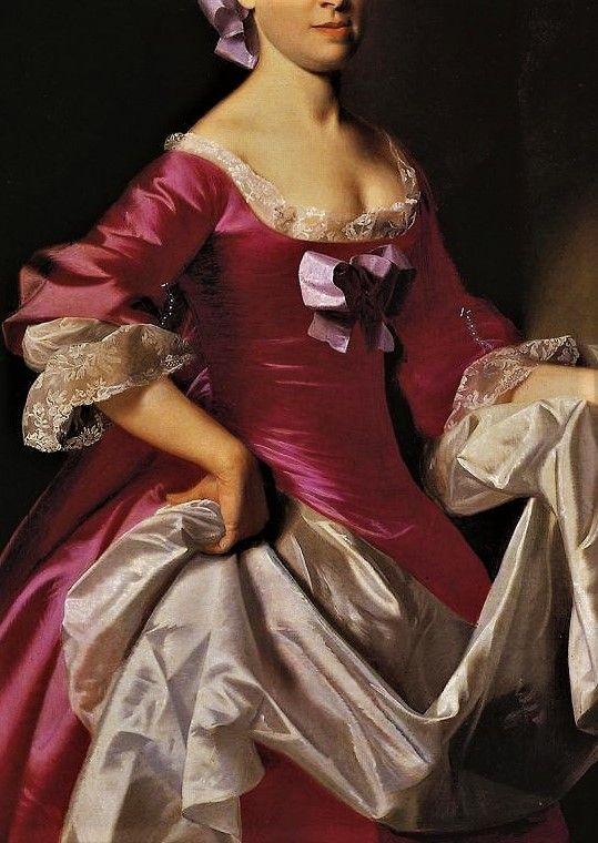 Portrait of Mrs George Watson, Elizabeth Oliver by John Singleton Copley, 1765