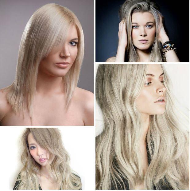 Açık Kül Sarısı 2017 Saç Renkleri ve Modelleri