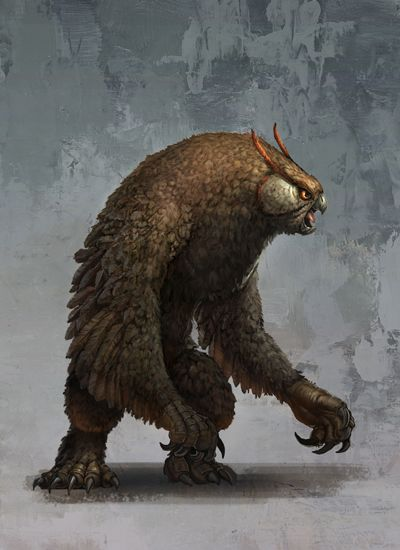 Bestiary: The Trained Owlbear