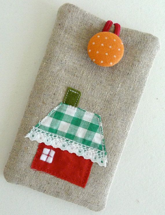 Unique iPhone Fabric Case/ iPhone Cover / iPhone by yayahandmade, $19.50