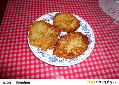 Květákové bramboráčky recept - TopRecepty.cz