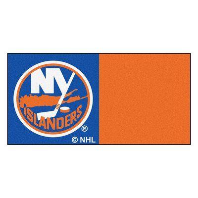 FANMATS NHL - Chicago Blackhawks Team Carpet Tiles NHL Team: New York Islanders