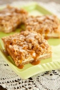 Carmel Apple Cheesecake Bars (Paula Deen's