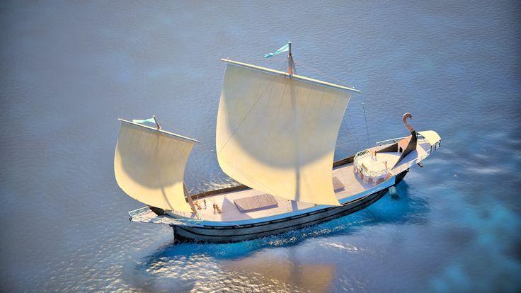 The Apistos (the 'Unbelievable') ship | ArtasMedia