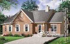 Plan de maison no. W3040 de dessinsdrummond.com