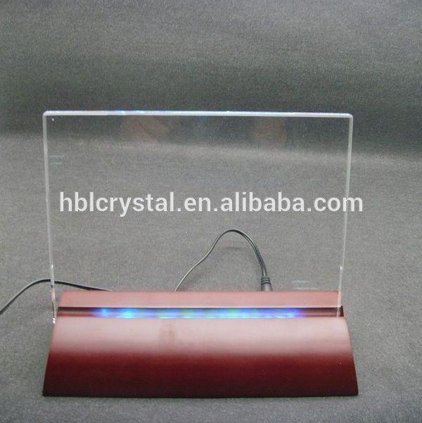 Popular cristal de madera led light placa base de cristal, marco de fotos-imagen-Artesanía Folclore-Identificación del producto:60120882225-spanish.alibaba.com