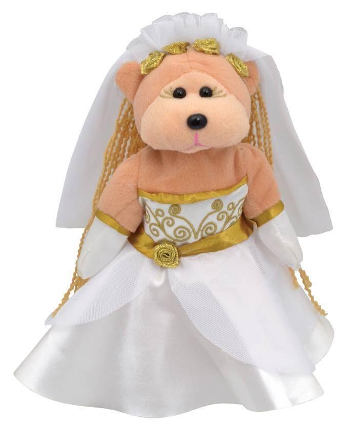 Beanie Kids - Samantha the Bride Bear COMMON - BRAND NEW