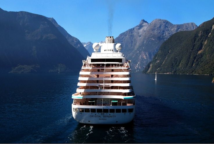 All aboard the Crystal Serenity, your sanctuary at sea.