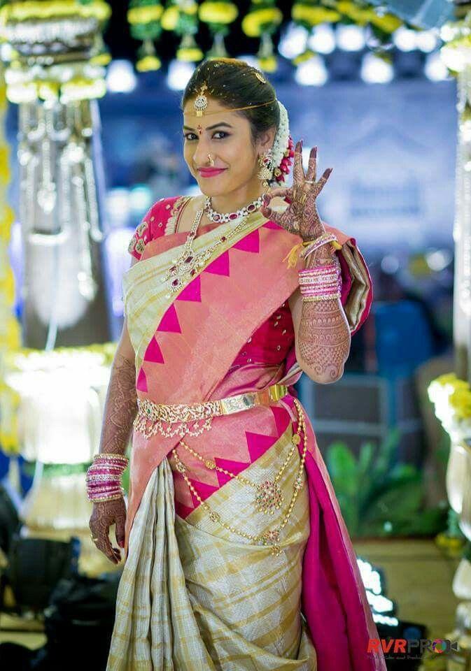 Telugu bride.