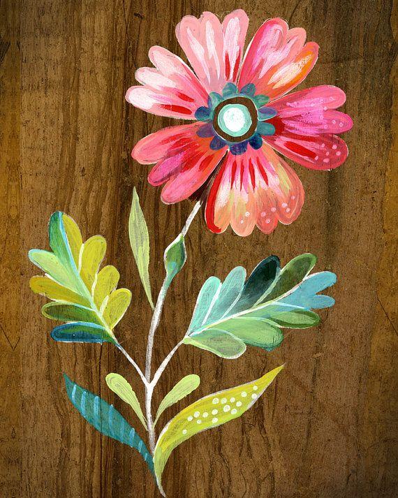 belle fleur vertical print van thewheatfield op Etsy