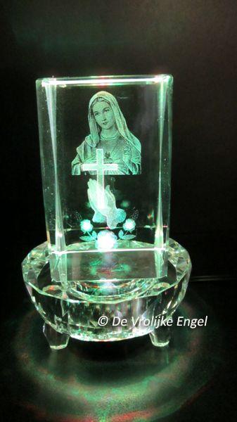 """Laserblok """"Maria met Kruis"""" - De Vrolijke Engel"""