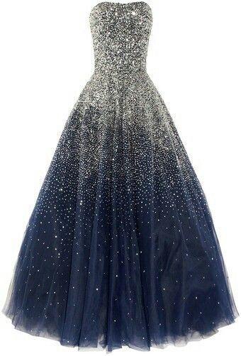 Blue dream 星空ドレス