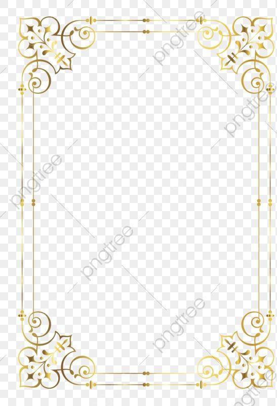 Gold Frame Frame Clipart Golden Frame Png Transparent Clipart Image And Psd File For Free Download Frame Border Design Frame Clipart Gold Photo Frames