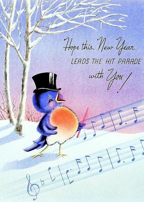 Hope This New Year Leads The Hit Parade With You!