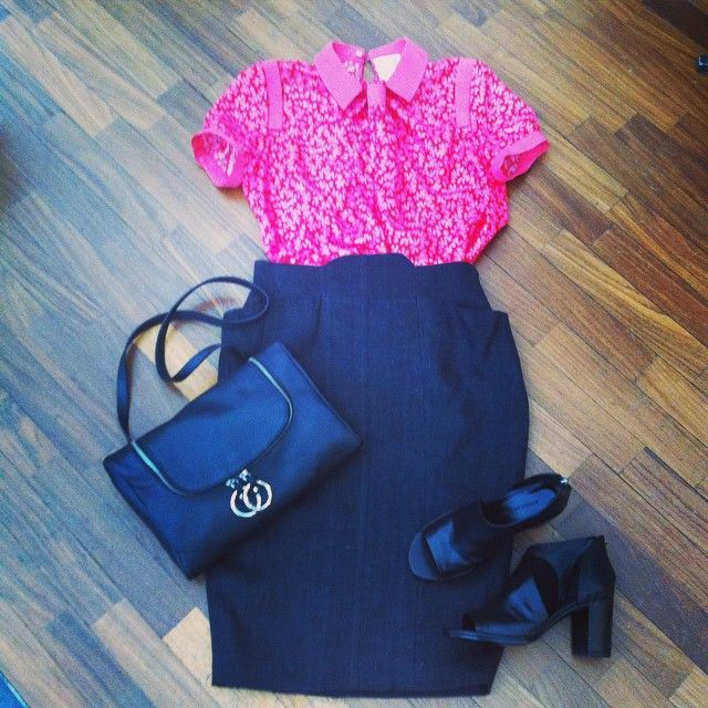 Alessandro de Benedett shirt, Mavitaten skirt, roberto del Carlo shoes, MM6 bag