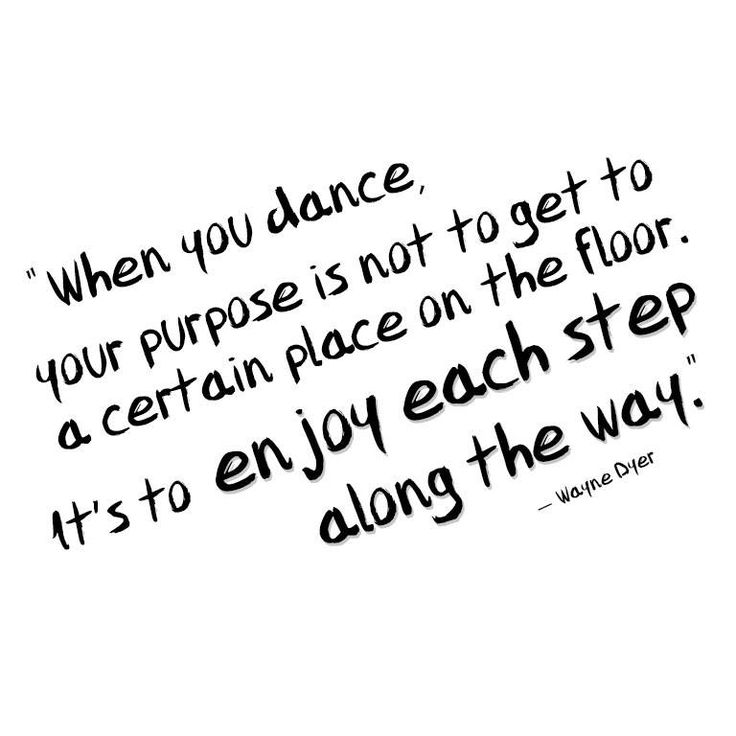 For the love of dance!