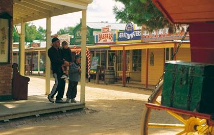Swan Hill Pioneer Settlement... Tourist Park.