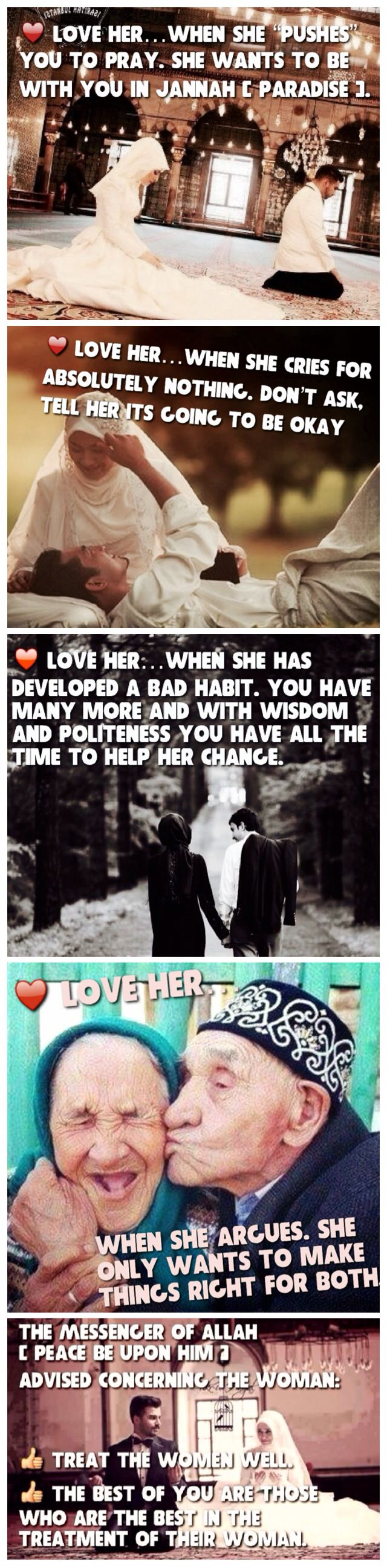 Love her because Allah ❤️