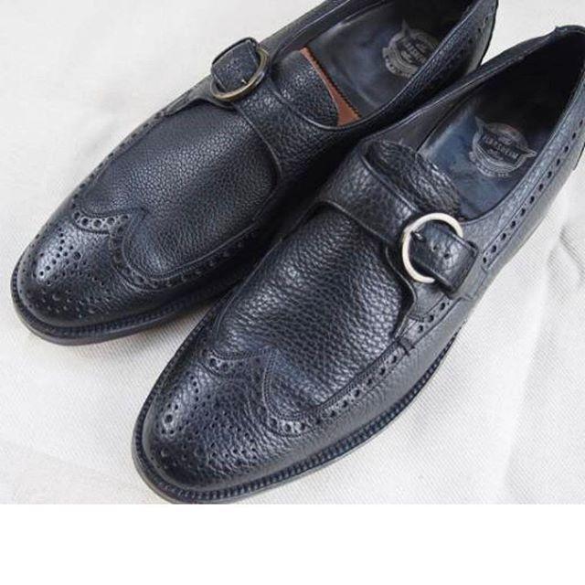 2017/02/22 19:14:41 teru2san めちゃめちゃ、欲しい衝動にかられる、、、。 男前になるためのアイテム👞 約半世紀前の靴。  #american #us #fashion #shoes #vintage #cordovan #item #florsheim #kenmoor #staratford #alden #allen #オシャレ #コーデ #靴 #古着 #アイテム #アメリカ靴 #ウィングチップ #フローシャイム #オールデン #服 #美容師 #ファッション #モンクストラップ #カーフ