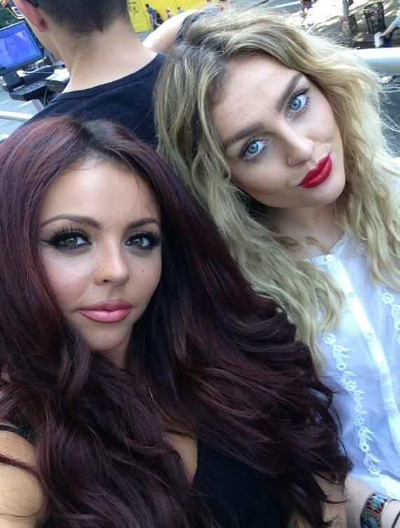 Jesy Nelson And Perrie Edwards jesy nelson and perrie...