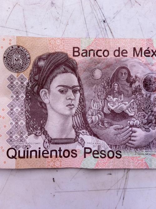 Banco de México. Frida Kalho.