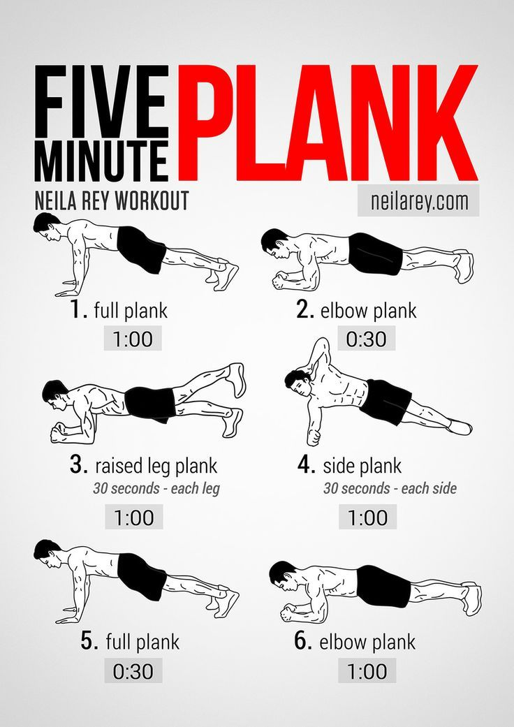 Neila Reys Five Minute Plank Workout __Love fitness? Check out our website!