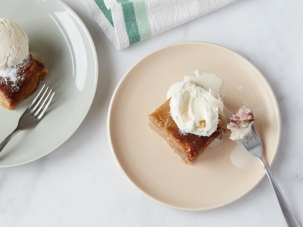 Get Slow Cooker Banana Upside Down Cake Recipe from Food Network