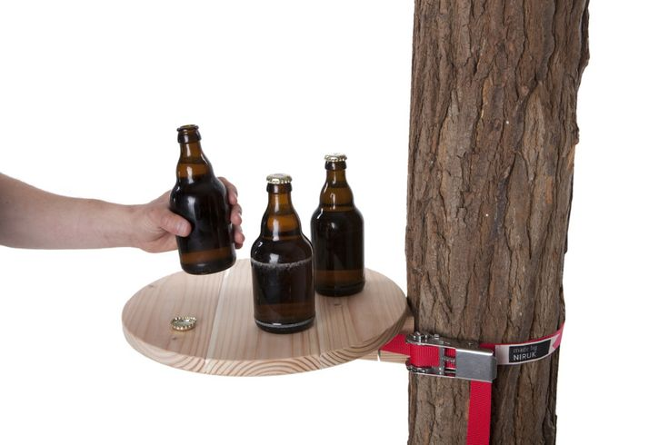 StammTisch Wood Tree Table by DESIGN STUDIO NIRUK made in Germany on CROWDYHOUSE  #gifts #fathersday
