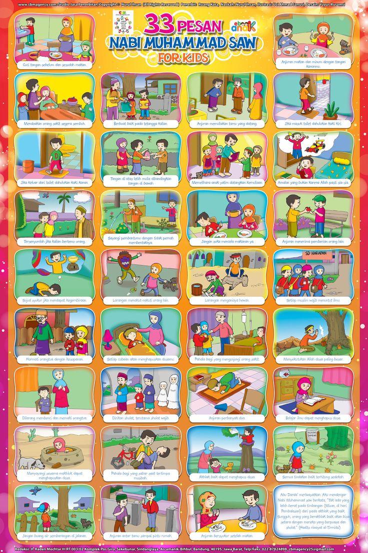 33 Pesan Nabi Muhammad For Kids